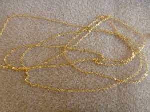 Fijn-goldfill-kettingmateriaal